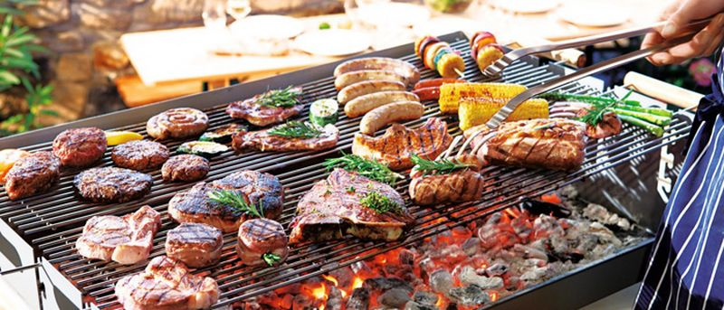 barbecues et grillades